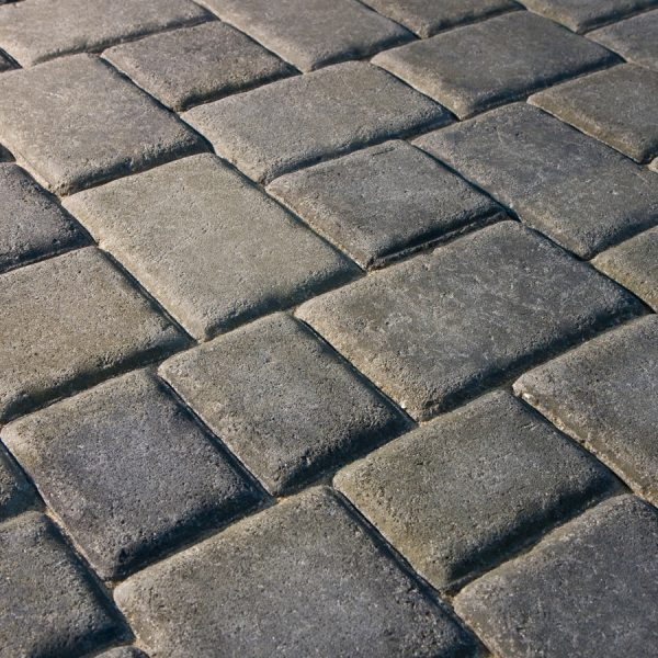 Calstone - Antiqued Cobble, Gray Charcoal