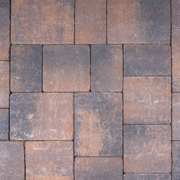 Calstone - Antique Flat Top, Tan Brown Charcoal