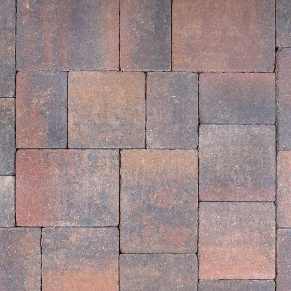 Calstone - Antique Flat Top, Tan Red Charcoal