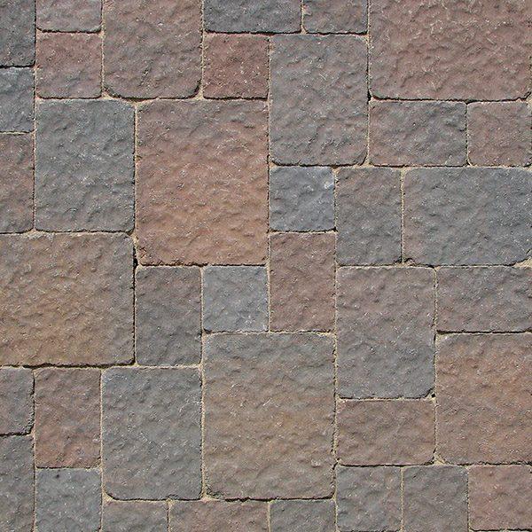 McNear - Belgian Cobble, Charcoal Tan
