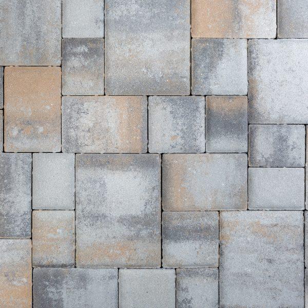 Calstone - Classic Cobble, Gray Charcoal Tan