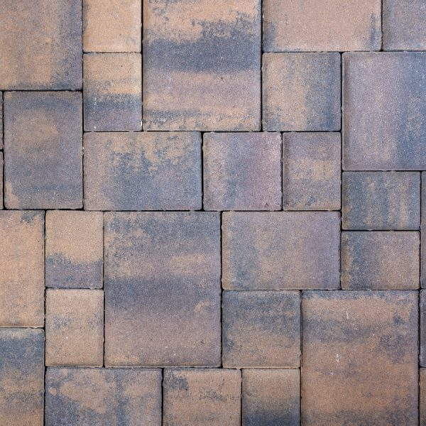 Calstone - Classic Cobble, Tan Brown Charcoal