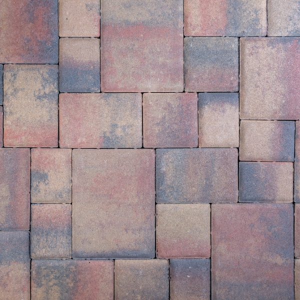 Calstone - Classic Cobble, Tan Red Charcoal